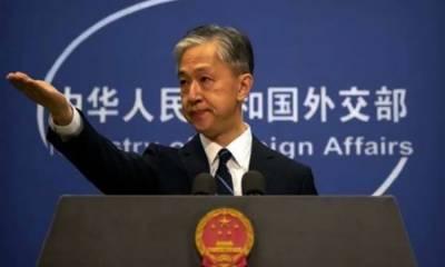 مقبوضہ وادی کی حیثیت میں تبدیلی کا بھارتی اقدام غیر قانونی: ترجمان چینی وزارت خارجہ