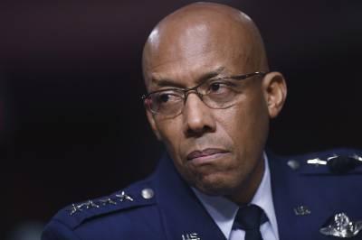 جنرل براﺅن امریکی ایئرفورس کے پہلے سیاہ فام سربراہ بن گئے
