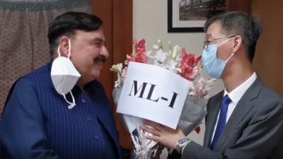 ایم ایل ون منصوبے سے پاکستان،چین تعلقات مزید مضبوط ہوں گے.شیخ رشید