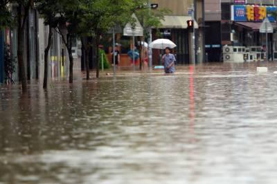 جنوبی کوریا میں شدید بارشیں، ہلاکتوں کی تعداد 21 ہوگئی