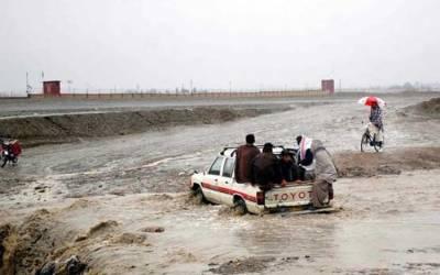 بلوچستان: بارشوں کے باعث ندی نالوں میں طغیانی، بچوں سمیت 8 افراد جاں بحق
