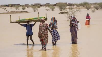 سوڈان ، شدید بارشوں سے21 افراد ہلاک