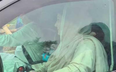 رائے ونڈ میں 180 ایکڑ اراضی کا کیس: لیگی رہنما مریم نواز نیب آفس پہنچ گئیں