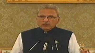 حکومت اقلیتوں کے حقوق کو یقینی بنانے کی پالیسی پر گامزن ہے: صدر ڈاکٹر عارف علوی