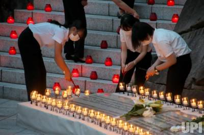 جاپان، طیارے کے حادثے کی یادگاری تقریب مختصر