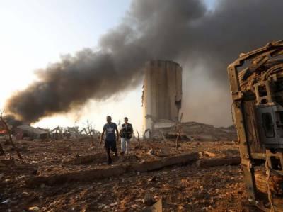 بیروت دھماکے کے بعد حزب اللہ کے عناصر کو بندرگاہ پر دیکھا ، عینی شاہد