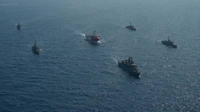 بحیرہ روم گیس ذخائر تنازعہ، فرانس کا مزید فوج تعینات کرنے کا اعلان