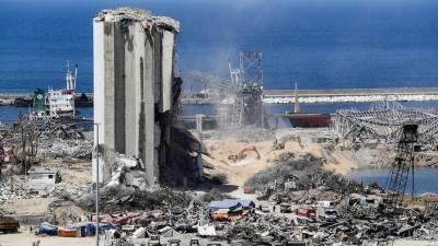 مصر کی بندرگاہوں سے بیروت میں تباہ کن دھماکے کے بعد خطرناک مواد ہٹانے کا آغاز