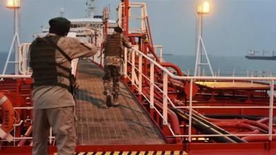 ایران نے متحدہ عرب امارات کا بحری جہاز قبضے میں لے لیا، عملہ بھی زیرحراست