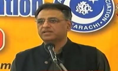 پیر سے کراچی کے بڑے نالوں پر تجاوزات ختم کرنے کے لیے آپریشن ہو گا: اسد عمر