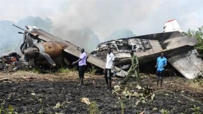سوڈان: کارگو طیارہ گر کر تباہ، 7 افراد ہلاک