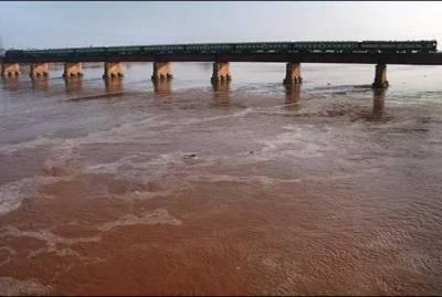 دریائے چناب سے ملحقہ سیم نالوں میں طغیانی کے باعث نشیبی علاقے زیر آب