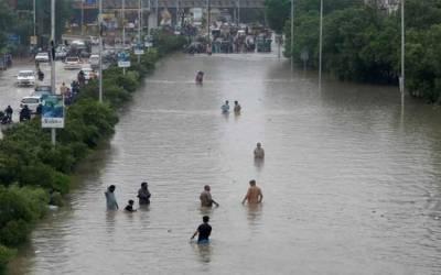 کراچی: مون سون بارشوں کا ساتواں اسپیل آج سے شروع ہونے کا امکان