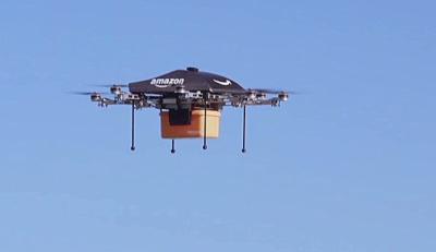 ایمزون کمپنی کو پارسل ڈلیوری کے لیے ڈرون طیارے استعمال کرنے کی اجازت
