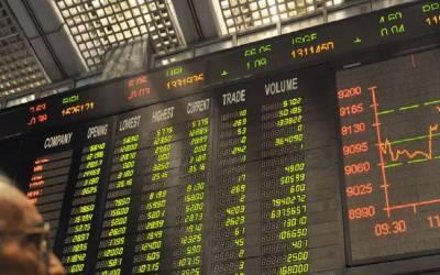پاکستان اسٹاک ایکسچینج میں کاروبار کا مثبت آغاز