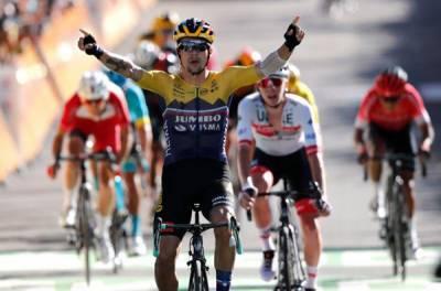 سلوینیا کے پریموز روگلچ نے ٹور ڈی فرانس سائیکل ریس کا چوتھا مرحلہ جیت لیا