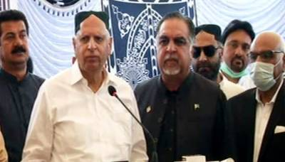 کراچی:گورنر سندھ اور گورنر پنجاب کا دورہ بدین
