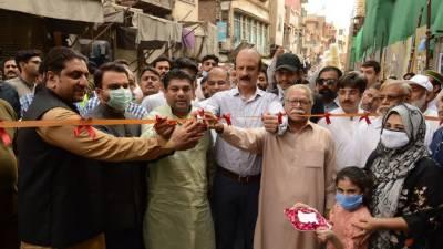 والڈ سٹی آف لاہور اتھارٹی نے شاہی گزرگاہ پیکج چار کے کا م کا آغاز کر دیا۔