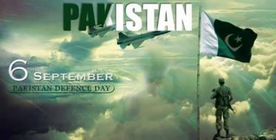 یوم دفاع پاکستان 6ستمبر کو قومی اور ملی جوش وجذبے کیساتھ منایا جائےگا