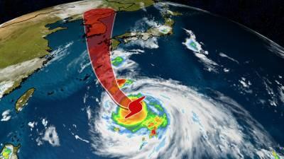 سمندری طوفان ہائی شین جنوب مغربی جاپان کی طرف بڑھ رہا ہے