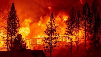 امریکی ریاست اوریگون میں آتشزدگی سے سینکڑوں مکانات تباہ
