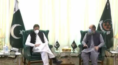 وزیراعظم عمران خان سے وزیر اعلی بلوچستان کی ملاقات