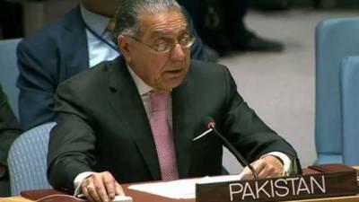 پاکستان مذہبی مقامات کے تحفظ کے حوالےسےاقوام متحدہ کےلائحہ عمل کی حمایت کرتا ہے:منیراکرم
