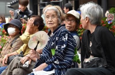 جاپان میں 100 سال کی عمر والے افراد کی تعداد 80 ہزار سے متجاوز
