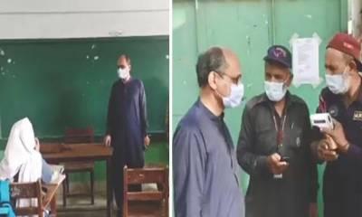 کراچی:سعید غنی کا اچانک دورہ، اورنگی ٹاون میں 2 اسکول سیل