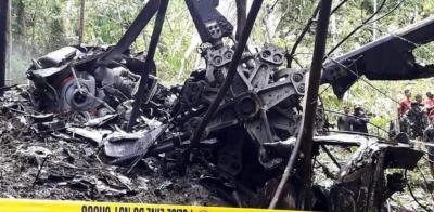 فلپائن، فوجی ہیلی کاپٹر حادثے میں عملے کے 4 ارکان ہلاک