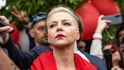 بیلاروس، اپوزیشن خاتون سیاستدان ماریاکولی سنیکووا پر فرد جرم عائد