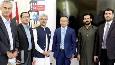 صوبائی وزیر صنعت وتجارت سے چینی کمپنی رائزن انرجی کے جنرل منیجر گروڈن گاؤ کی ملاقات, چینی کمپنی کا پنجاب میں سولر انرجی کے منصوبوں میں سرمایہ کاری میں دلچسپی کا اظہار
