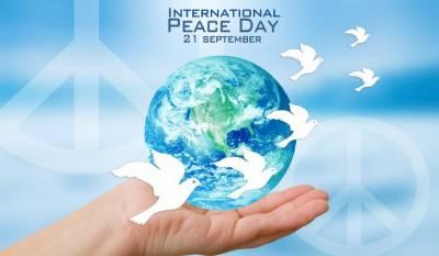 پاکستان سمیت دنیا بھر میں امن کا عالمی دن 21ستمبر پیرکومنایا جائے گا
