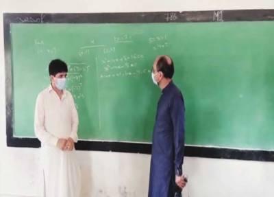 سعید غنی کا حیدر آباد میں مختلف تعلیمی اداروں کا دورہ، تدریسی نظام کا جائزہ