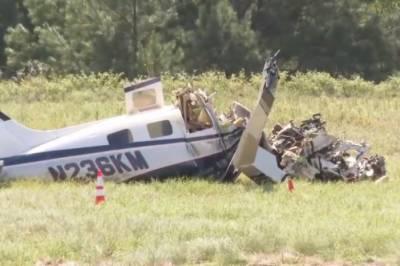 امریکہ ، ٹیکساس میں چھوٹا طیارہ گر کر تباہ ، 4 افراد ہلاک