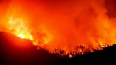 امریکہ،کیلیفورنیا کے جنگلات کی آگ سے کئی گھر تباہ، مختلف علاقوں سے آبادی کا انخلا