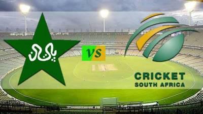 پاکستان اور جنوبی افریقہ کے درمیان سیریز کے لیے نئی ونڈو تلاش کرنے پر دونوں بورڈزکی مشاورت جاری ہے