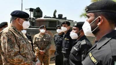 پاک فوج ابھرتے ہوئے چیلنجوں اور علاقائی خطرات سے نمٹنے کے لئے تیار ہے. آرمی چیف