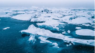 آرکٹک کے علاقے میں سمندری برف دوبارہ تیز رفتاری سے پگھلنے لگی