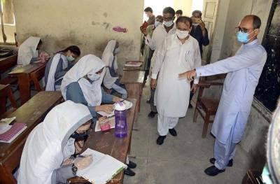 کراچی:سعید غنی کا کراچی کے مختلف علاقوں میں تعلیمی اداروں کا دورہ