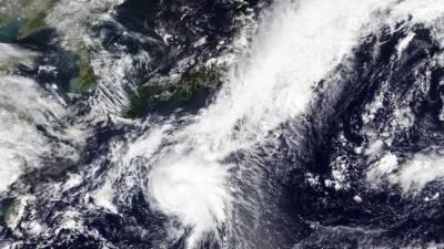 سمندری طوفان ڈولفن بحرالکاہل کے رخ پر واقع جاپانی علاقوں کی جانب رواں دواں