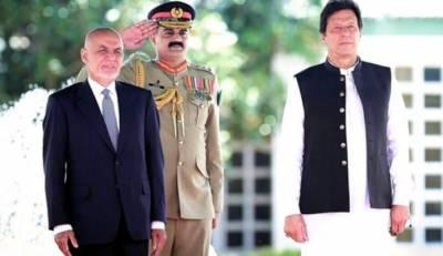 وزیراعظم عمران خان کا افغان صدر اشرف غنی سے ٹیلی فون پر رابطہ ، افغان امن عمل و دوطرفہ تعلقات کو مزید مضبوط بنانے پر تبادلہ خیال کیا