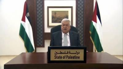 اقوام متحدہ مشرق وسطیٰ میں قیام امن کیلئے عالمی کانفرنس کااہتمام کرے:فلسطینی صدر