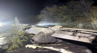 یوکرائن کا فوجی طیارہ گر کر تباہ،کیڈٹس سمیت27 افراد ہلاک،2زخمی