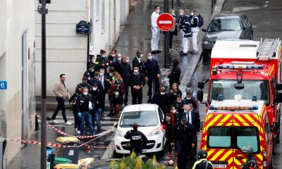 پیرس، چاقو حملے میں 4 افراد زخمی، دو کی حالت تشویشناک