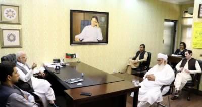 تحریک انصاف کے رہنما اعجازاحمد چوہدری سے ن لیگ کے رکن صوبائی اسمبلی میاں جلیل شرقپوری کی ملاقات، موجودہ ملکی سیاسی صورت پر تبادلہ خیال کیا