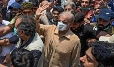 شہباز شریف کی ضمانت خارج ،احاطہ عدالت سے گرفتار