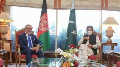افغان تنازع حل ہونے کے بعد معاشی ترقی میں حمایت جاری رکھیں گے. عمران خان