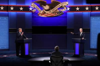 ٹرمپ اور جوبائیڈن صدارتی مباحثے میں الجھتے رہے، ایک دوسرے پر الزامات