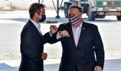 ترکی اور یونان کے درمیان مذاکرات کی حمایت کریں گے'پومپیو